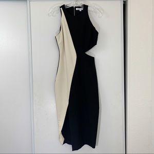 Elizabeth & James Giulia Side Cutout Pencil Dress